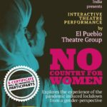 interactive theatren performance on no country for women on international peace day by wrn india and el pueblo theatre group