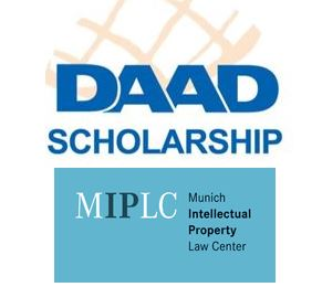 daad scholarship for llm in intellectual property from munich ip law centre miplc