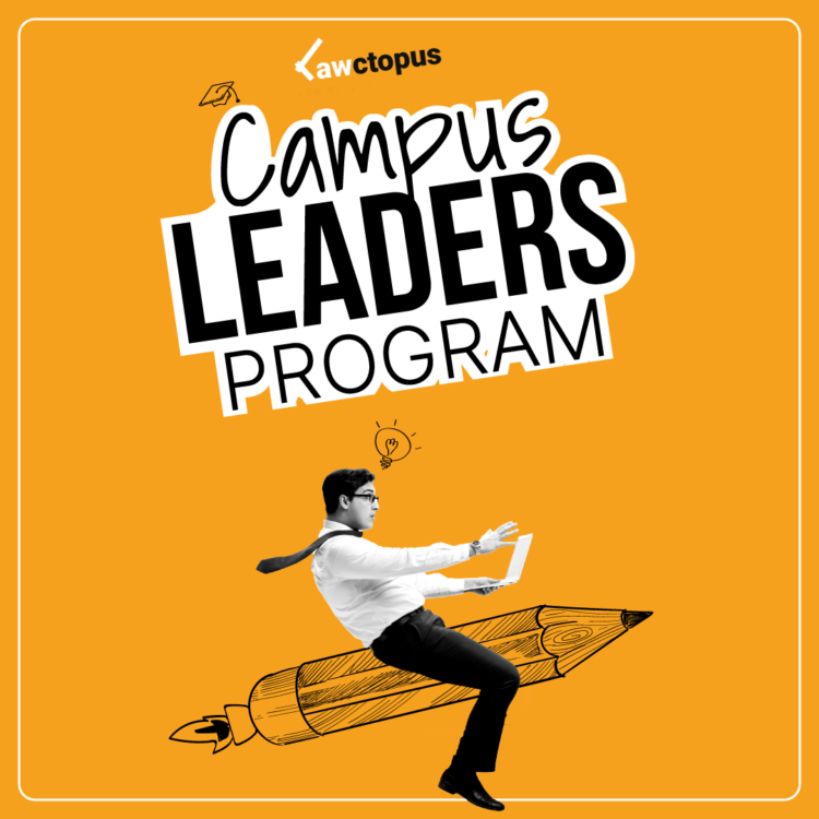 Launching: Campus Leaders Program by Lawctopus [Oct 30 to Apr 30]: Apply by Oct 15