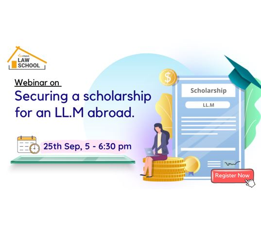 webinar on securing a scholarship for llm from abroad by lawctopus law school