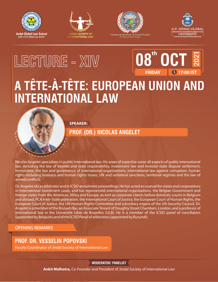 jsil jgls lecture on european union and international law