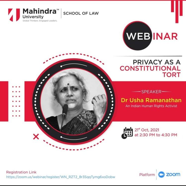 Mahindra University Webinar